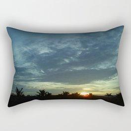 TIRED_SUNSETS Rectangular Pillow