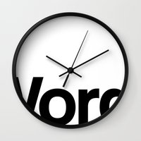 "word Wall Clocks featuring Word. by ""LSC"""
