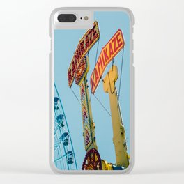 Texas Star & Kamikaze, State Fair Rides Clear iPhone Case