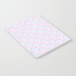Pearly Glow Pastel Notebook