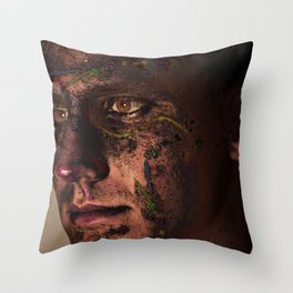 Irradiancia  Throw Pillow