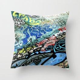 Graffiti is Art Throw Pillow