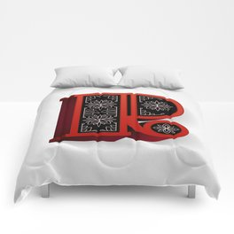 The Letter R Comforters