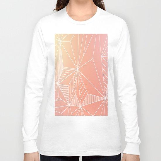 Paradise Geo Blush Long Sleeve T-shirt