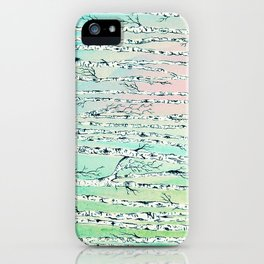 don't be a birch iPhone Case