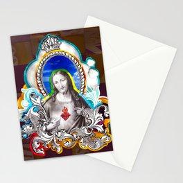 Sagrado Coração de Jesus (Sacred Heart) #1 Stationery Cards