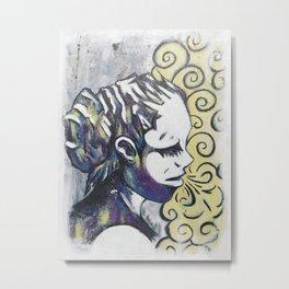 Smoke Metal Print
