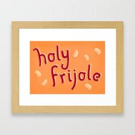Holy Frijole Framed Art Print