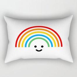 Smiley rainbow Rectangular Pillow