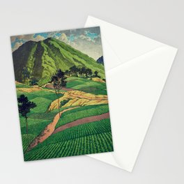 Crossing people's land in Iksey Stationery Cards