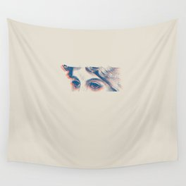 Stares to Nowhere Wall Tapestry