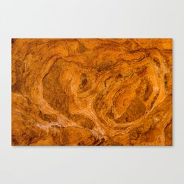Natural Stone Art-The Cistern, Gold Butte, NV Canvas Print