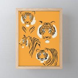 Tigers Framed Mini Art Print
