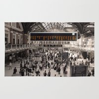 liverpool Area & Throw Rugs featuring Liverpool St. by theGalary