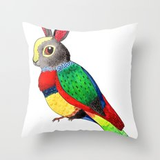 Rabbird Throw Pillow