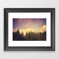 North Wilderness Framed Art Print