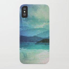 Tropical Island Multiple Exposure iPhone Case