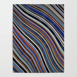 Wild Wavy Lines 03 Poster