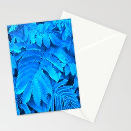 Evening leaves Stationery Cards