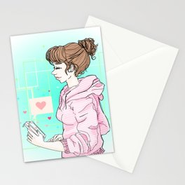 Talking To You Stationery Cards