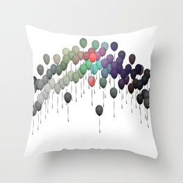 Spread Love and Happiness Throw Pillow