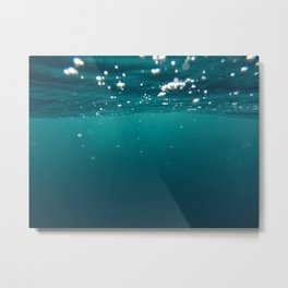 Submerged Metal Print