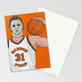 Hoops Legend Michael Myers Stationery Cards