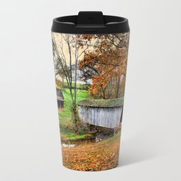 Lincoln's Homestead Travel Mug