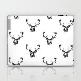 Christmas Deer Stag Antler Pattern Laptop & iPad Skin