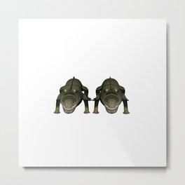 Anisue's Crocodile. Metal Print