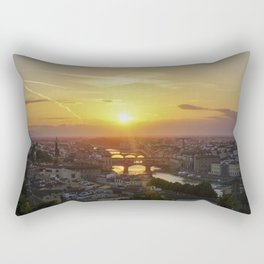 Florence Sunset Rectangular Pillow