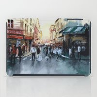 paris iPad Cases featuring PARIS by Nicolas Jolly