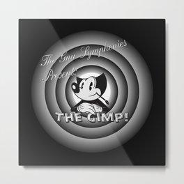 The Gimp Metal Print