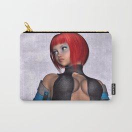 Fantasy Future Girl  Carry-All Pouch