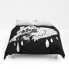 Hungry Eyes Comforters