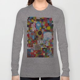 Microcosm Collage Long Sleeve T-shirt