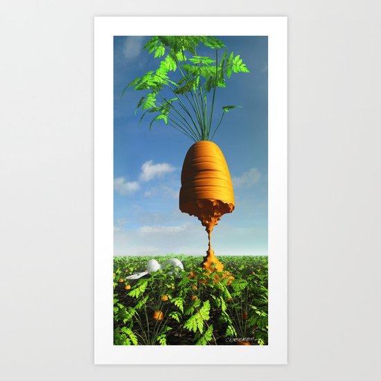Prize Winner Art Print