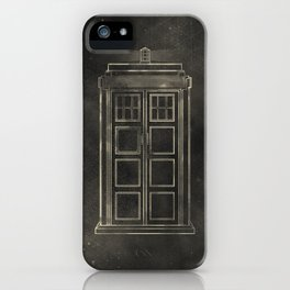 Doctor Who: Tardis iPhone Case