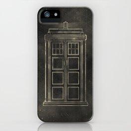 Doctor Who: Tardis iPhone Case