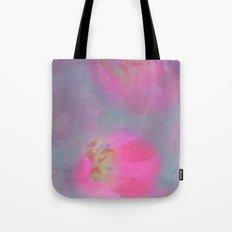 Tulip collage Tote Bag