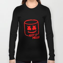 Marshmello - Keep It Mello Red Long Sleeve T-shirt