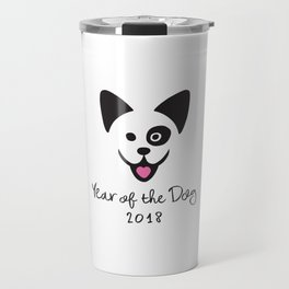 Year of the Dog 2018 Travel Mug