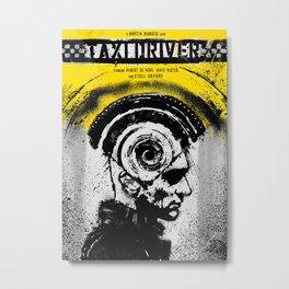 Taxi Driver Metal Print