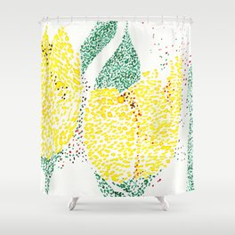 flower_IV Shower Curtain