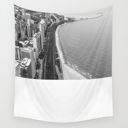Lakeshore Drive Wall Tapestry