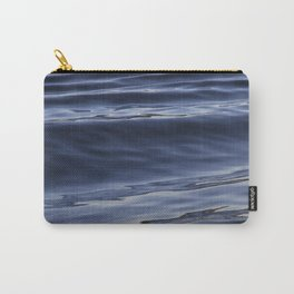 Smooth Waves Carry-All Pouch