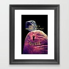 Quark Framed Art Print