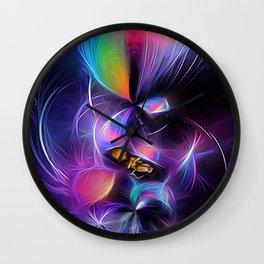 Infinite Beginnigs to a Long Journey Wall Clock