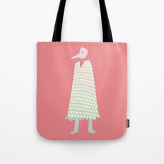 A Stranger Comes A-Callin' Tote Bag