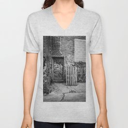 Exit to the Streets Unisex V-Neck